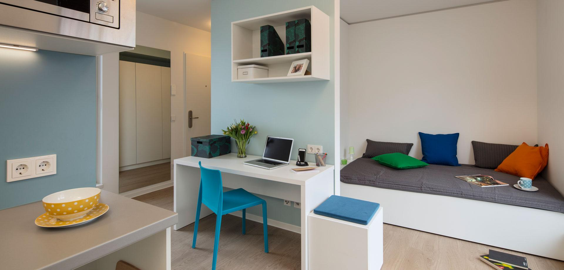 Studentenapartments zur All-inclusive-Miete - Quartillion Köln
